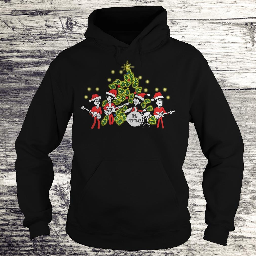 The Beatles singing Christmas tree Shirt Hoodie