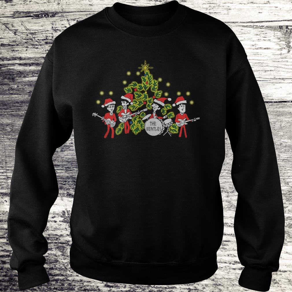 The Beatles singing Christmas tree Shirt