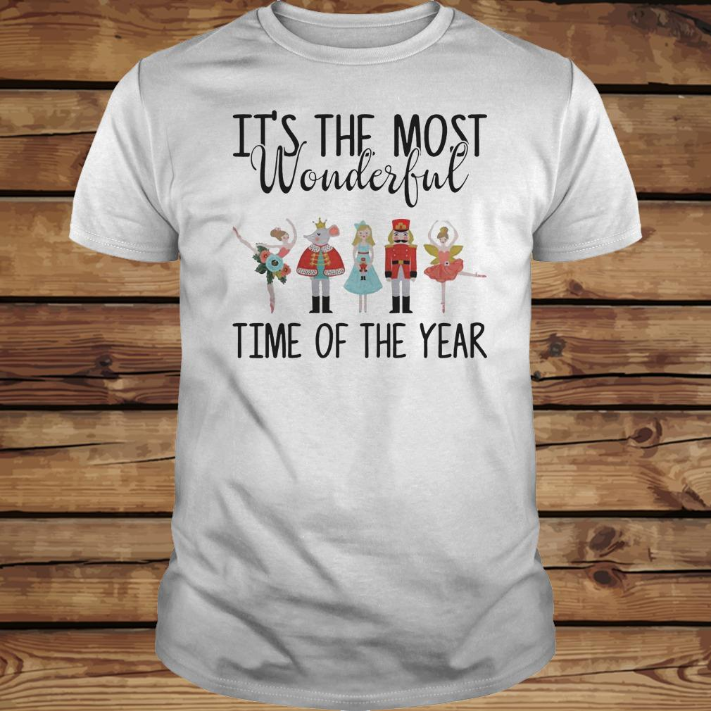 The Nutcracker Ballet It's The Most Wonderful Time Of The Year shirt Classic Guys / Unisex Tee