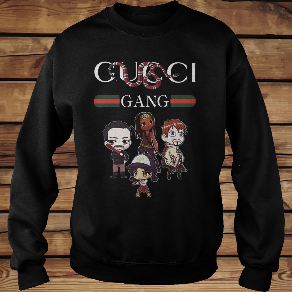 The Walking Dead Gucci Gang Coral Snake Mashup T Shirt Teenavi Shirt Sweatshirt Unisex.jpg