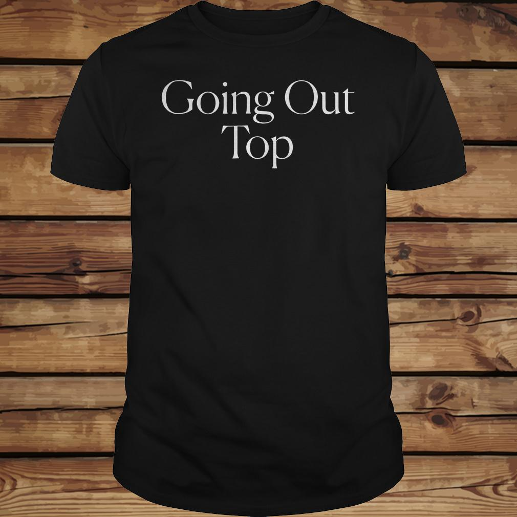 The cut going out top shirt Classic Guys / Unisex Tee