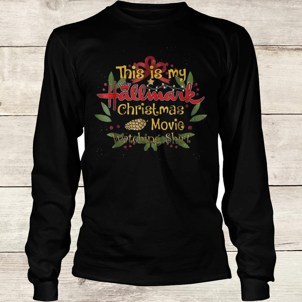 This girl loves Hallmark Christmas movies shirt Longsleeve Tee Unisex