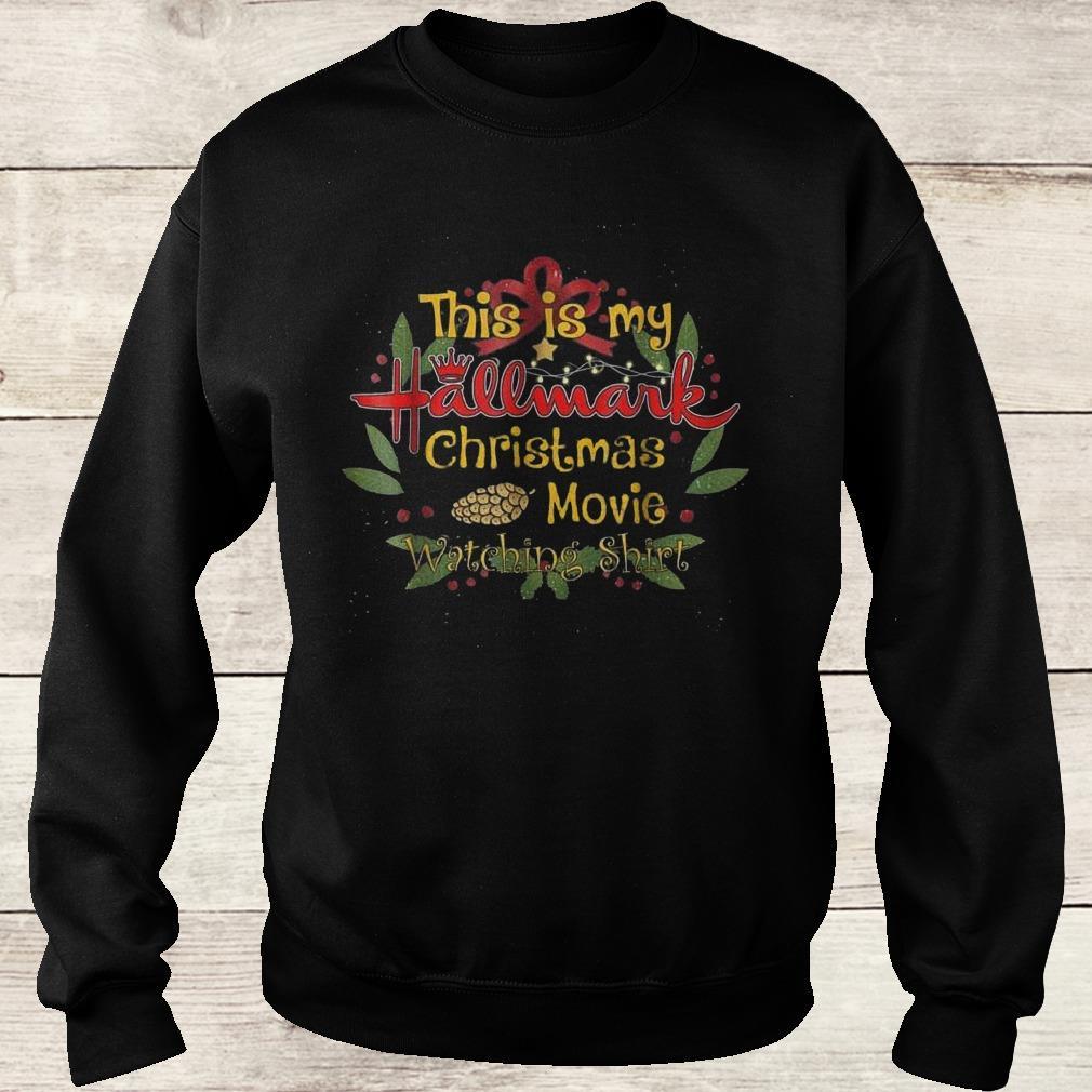 This girl loves Hallmark Christmas movies shirt Sweatshirt Unisex