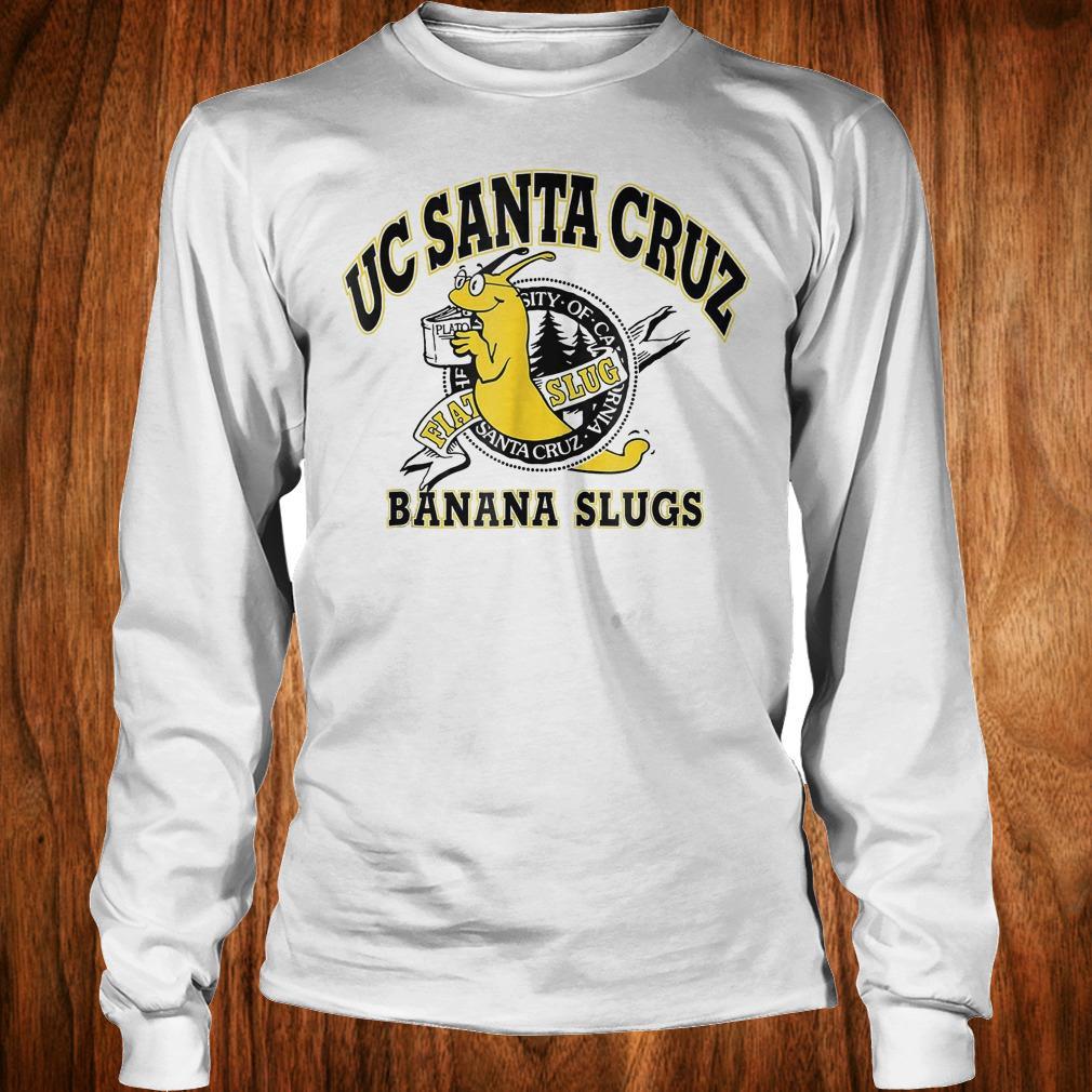 Uc Santa Cruz banana slugs shirt Longsleeve Tee Unisex