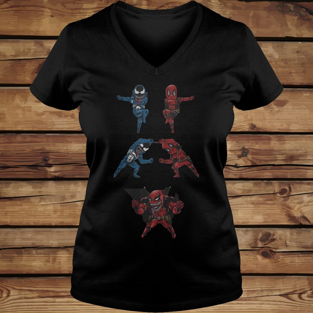 Venompool shirt Ladies V-Neck