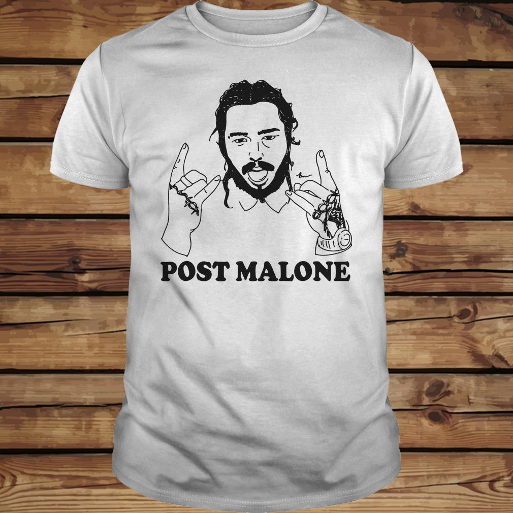 Vintage rapper Post leave me Malone shirt Classic Guys / Unisex Tee