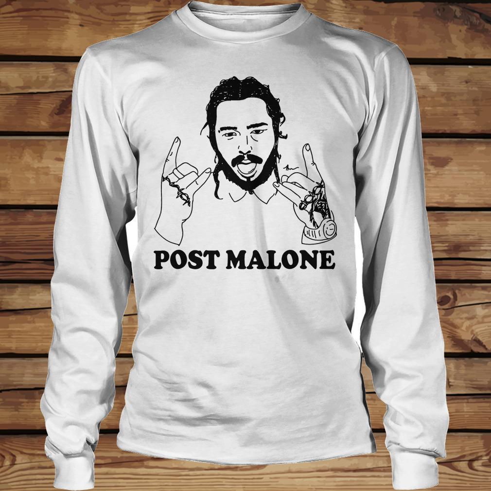 Vintage rapper Post leave me Malone shirt Longsleeve Tee Unisex
