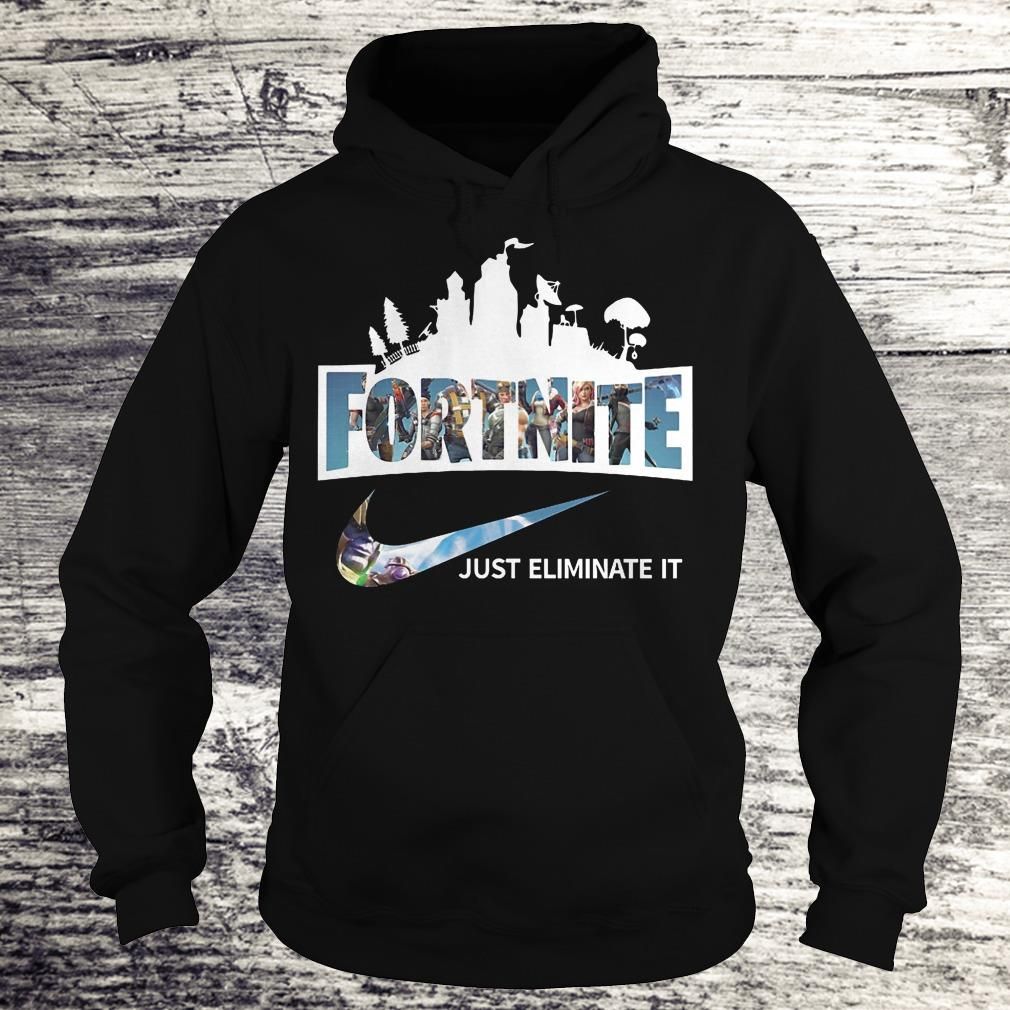 Best price Fortnite just eliminate it shirt