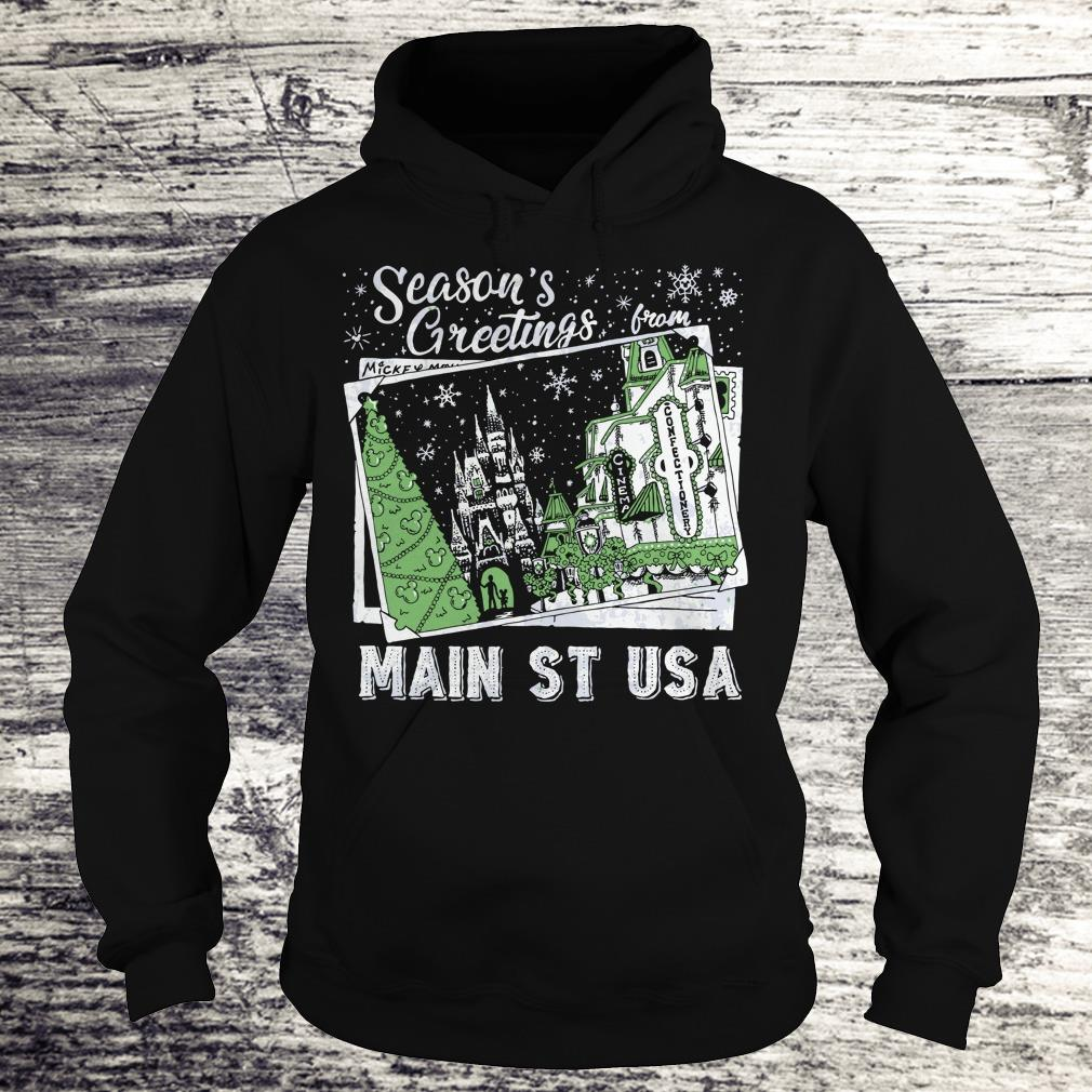 Best price Picture Main St USA Season's Greetings from shirt Hoodie