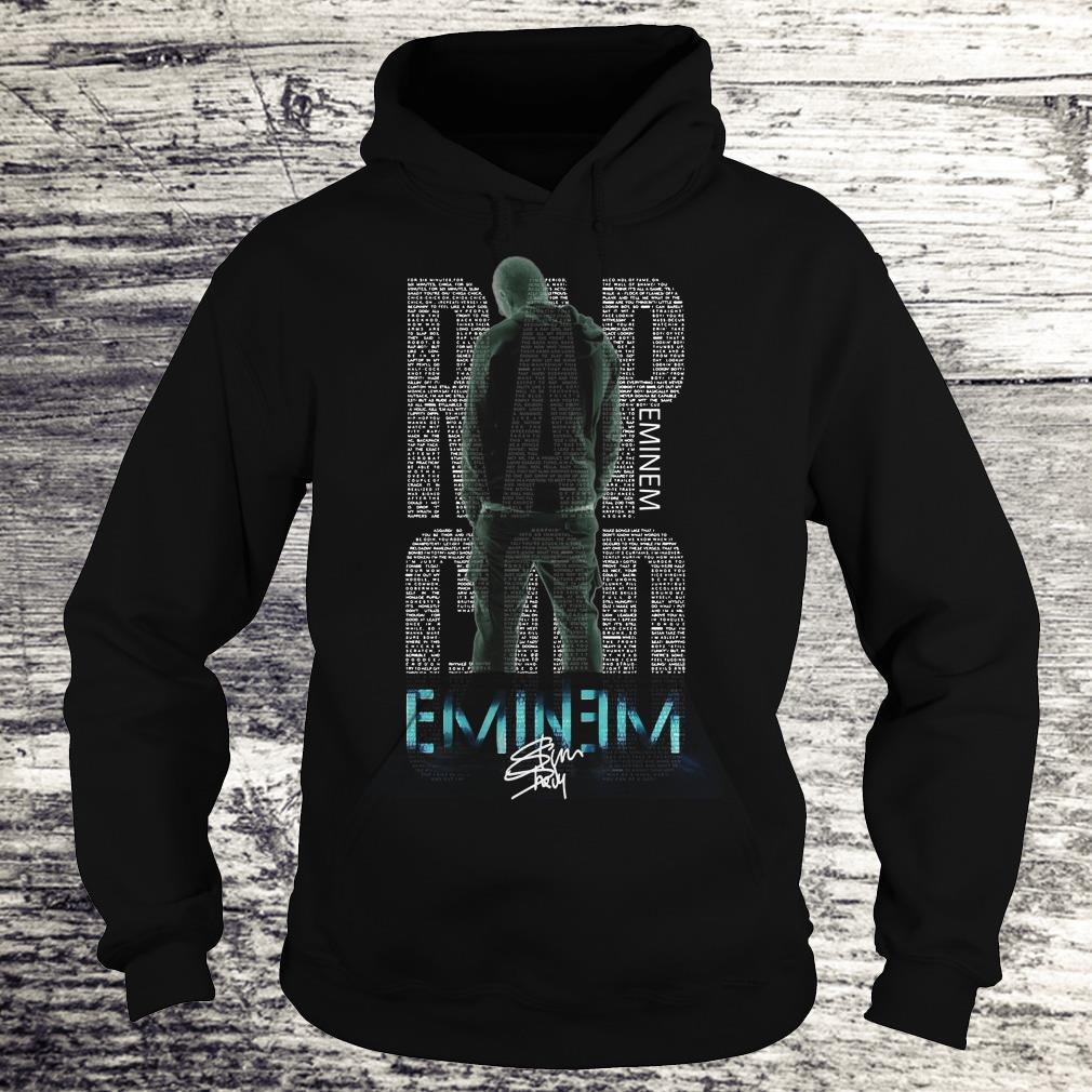 Hot Rap God Eminem shirt Hoodie