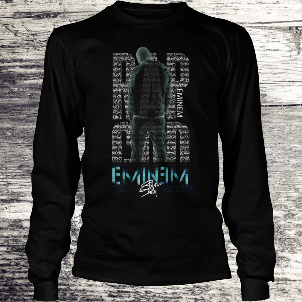 Hot Rap God Eminem shirt Longsleeve Tee Unisex