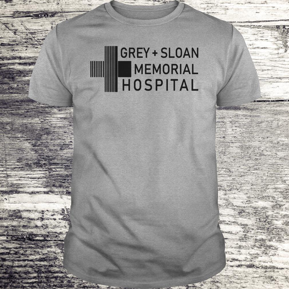 Nice Grey sloan memorial hospital shirt, hoodie Classic Guys / Unisex Tee
