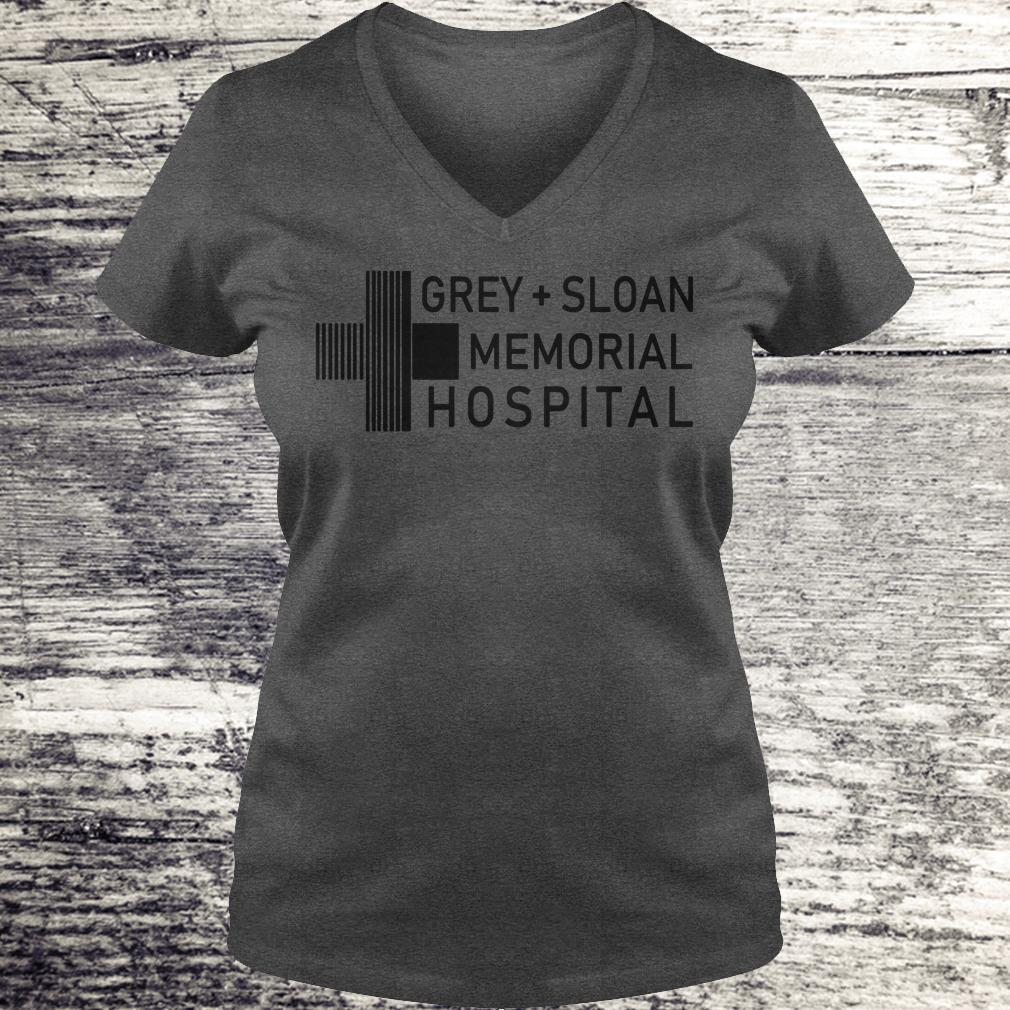 Nice Grey sloan memorial hospital shirt, hoodie Ladies V-Neck