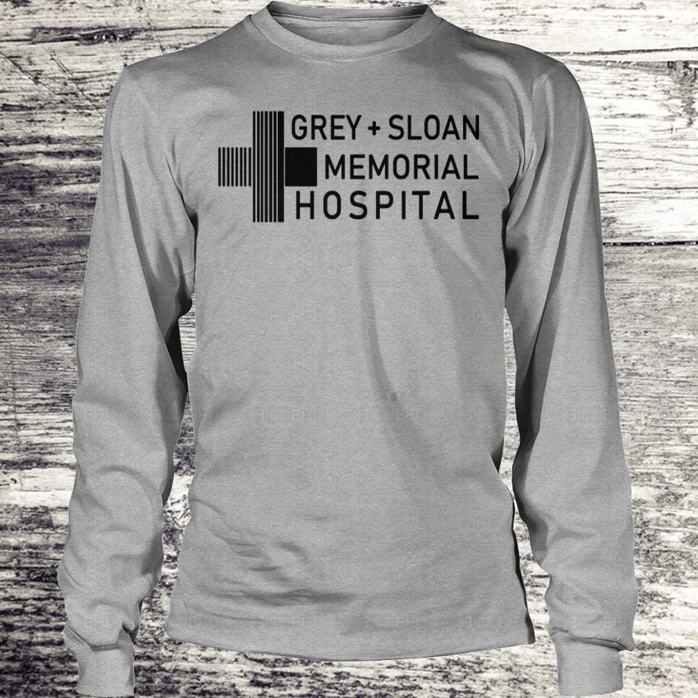 Nice Grey sloan memorial hospital shirt, hoodie Longsleeve Tee Unisex