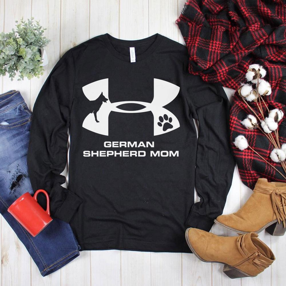 Nice Under Armour German Shepherd Mom shirt
