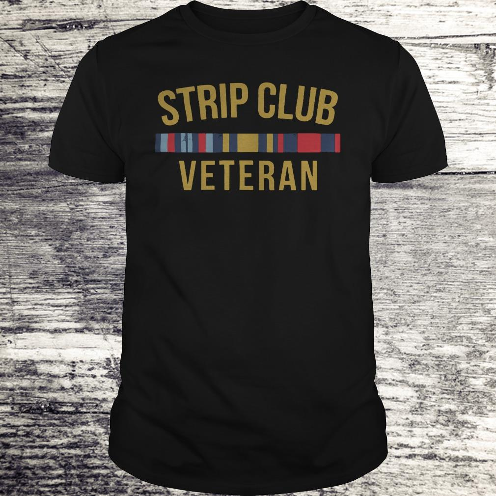 Official Military Strip club veteran shirt Classic Guys / Unisex Tee