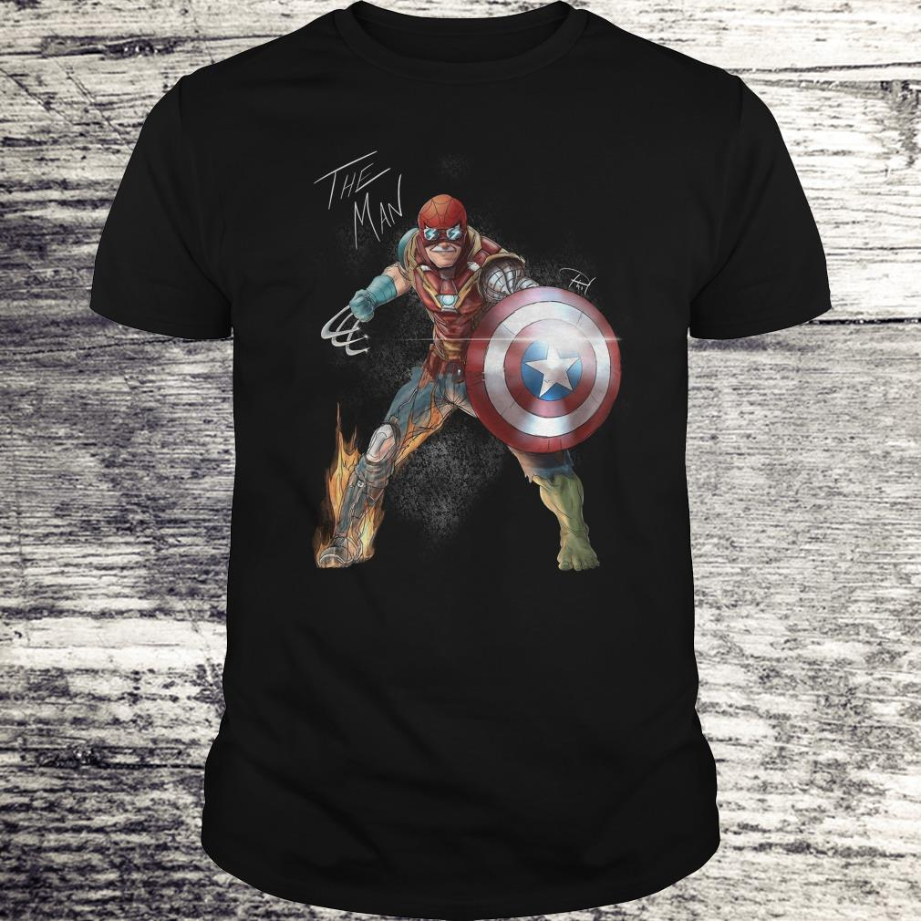 Official Stan Lee One With His Universe Shirt Classic Guys Unisex Tee.jpg
