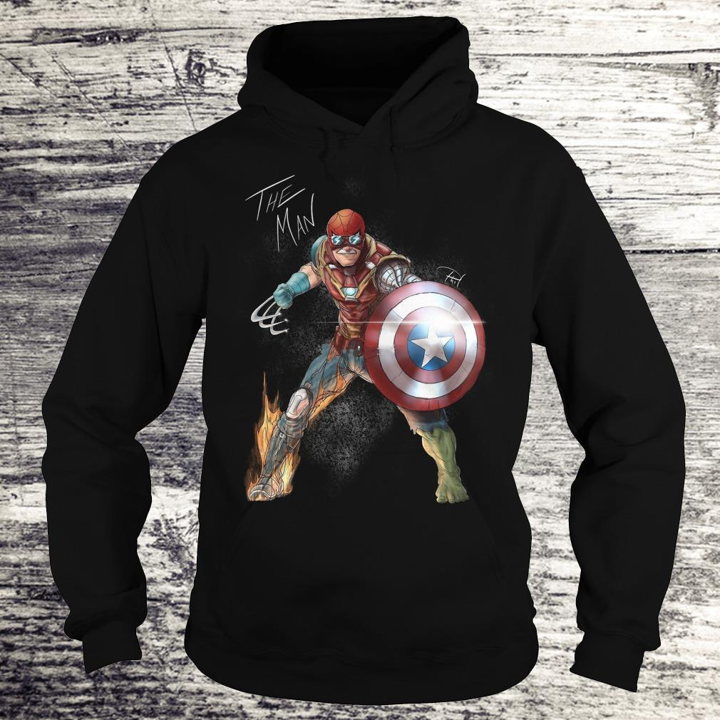 Official Stan Lee One with his universe shirt Hoodie