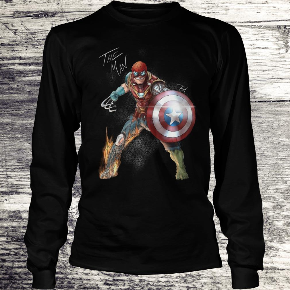 Official Stan Lee One with his universe shirt Longsleeve Tee Unisex