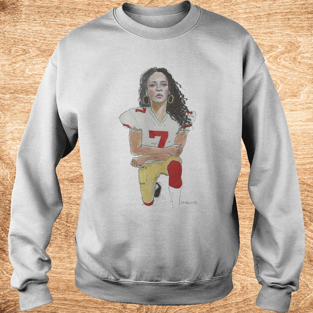 Official Take A Knee Ri Ri shirt Sweatshirt Unisex