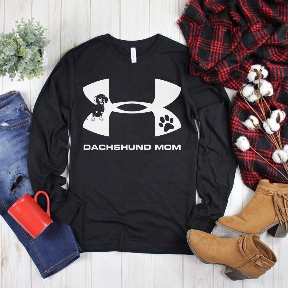 Official Under Armour Dachshund Mom shirt