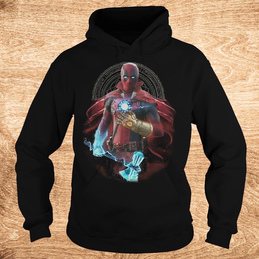 Original Avengers Infinity Deadpool Doctor Strange Iron Man Thanos Thor shirt