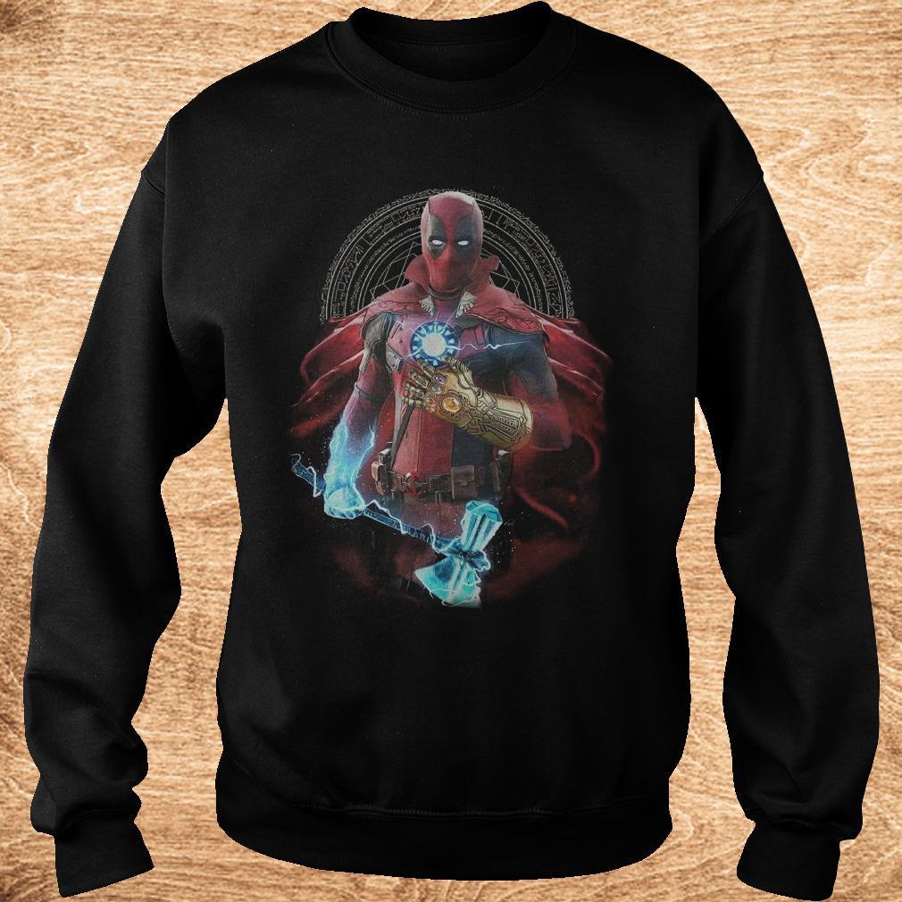 Original Avengers Infinity Deadpool Doctor Strange Iron Man Thanos Thor shirt Sweatshirt Unisex