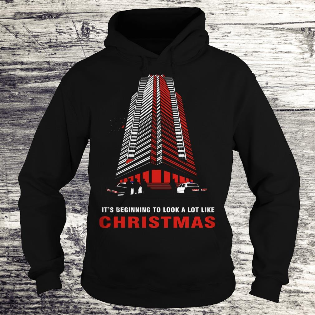Original It's beginning to look a lot like christmas shirt Hoodie