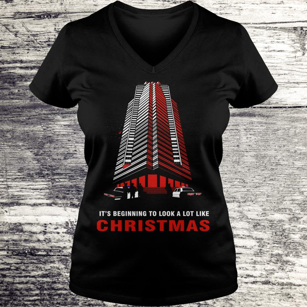 Original It's beginning to look a lot like christmas shirt Ladies V-Neck