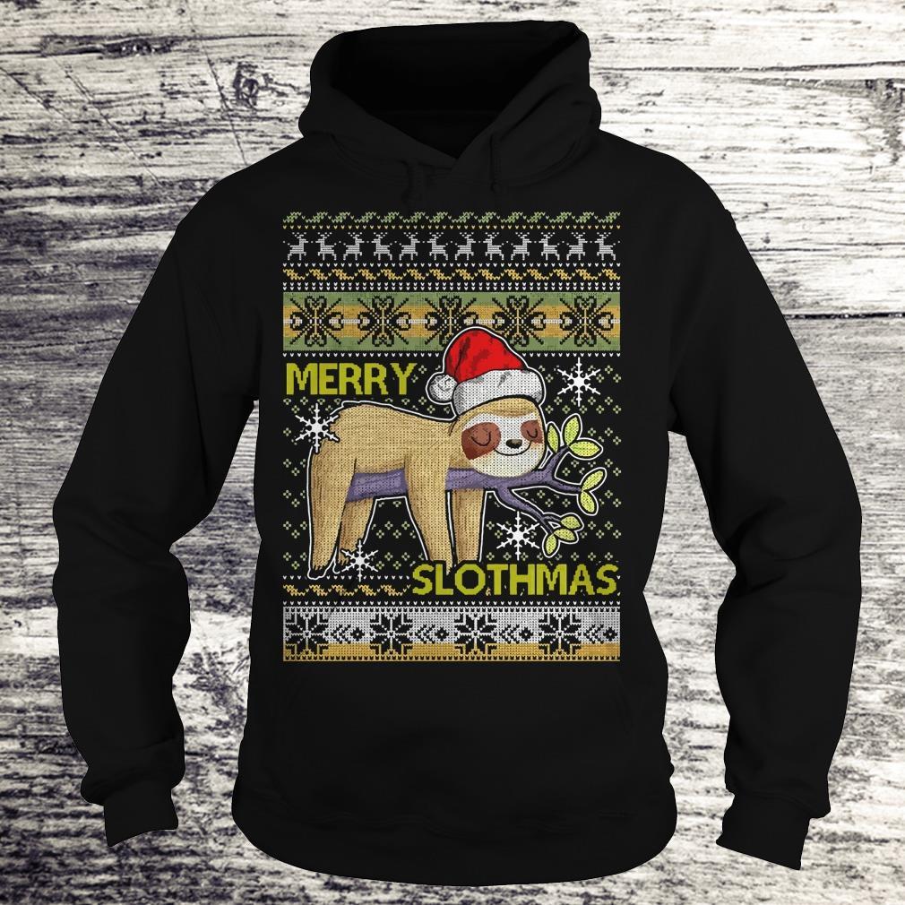 Original Merry Slothmas sweater shirt Hoodie