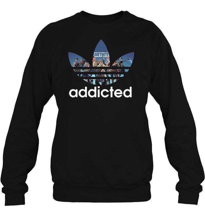 Premium Fortnite Addicted Adidas Sweater