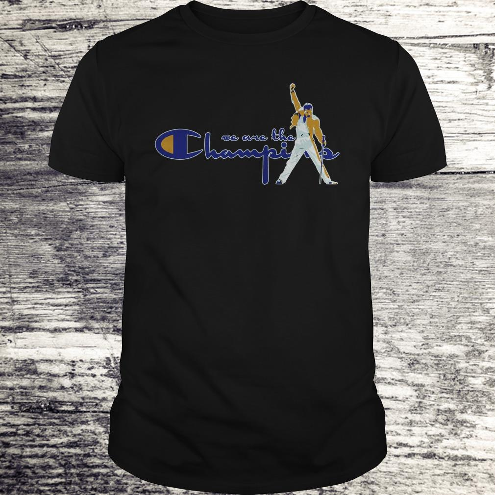 Premium We are the champions Freddie Mercury shirt Classic Guys / Unisex Tee