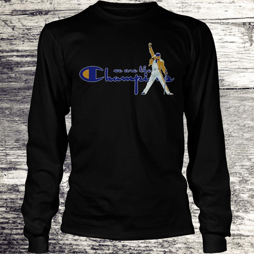 Premium We are the champions Freddie Mercury shirt Longsleeve Tee Unisex