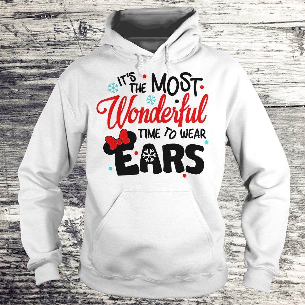 Pretty Disney It's The Most Wonderful Time To Wear Ears shirt Hoodie