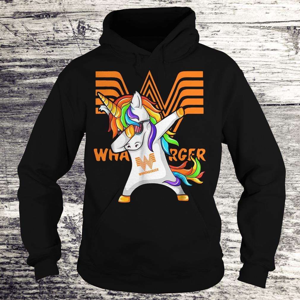 Pretty Whataburger Unicorn Dabbing shirt Hoodie