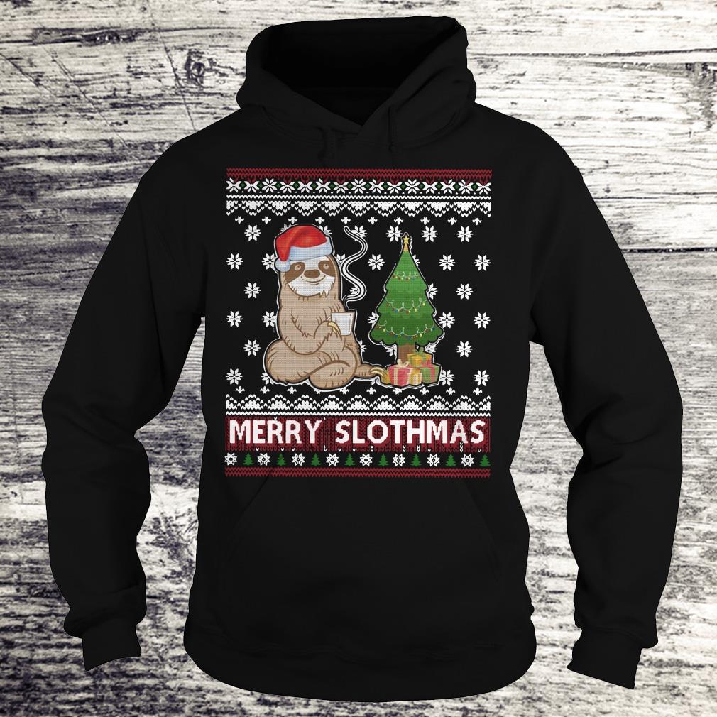 PrettyMerry Slothmas sweater shirt Hoodie