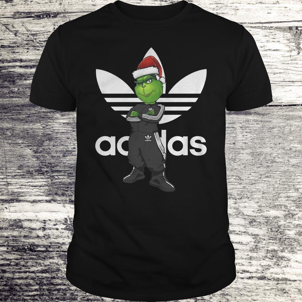 The best Grinch Santa Adidas shirt Classic Guys / Unisex Tee