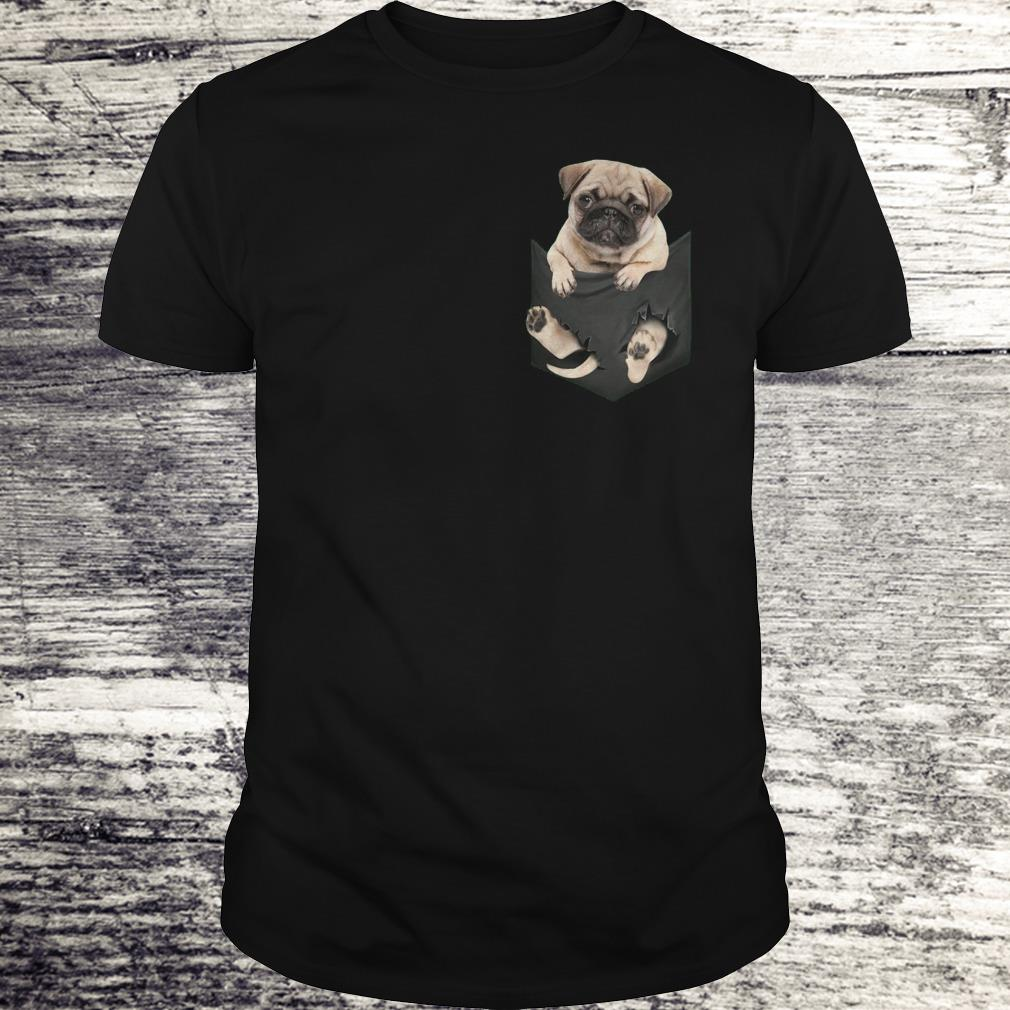The best Miniature pug In Pocket shirt Classic Guys / Unisex Tee