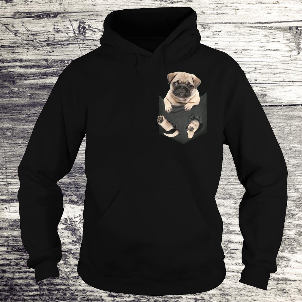 The best Miniature pug In Pocket shirt Hoodie