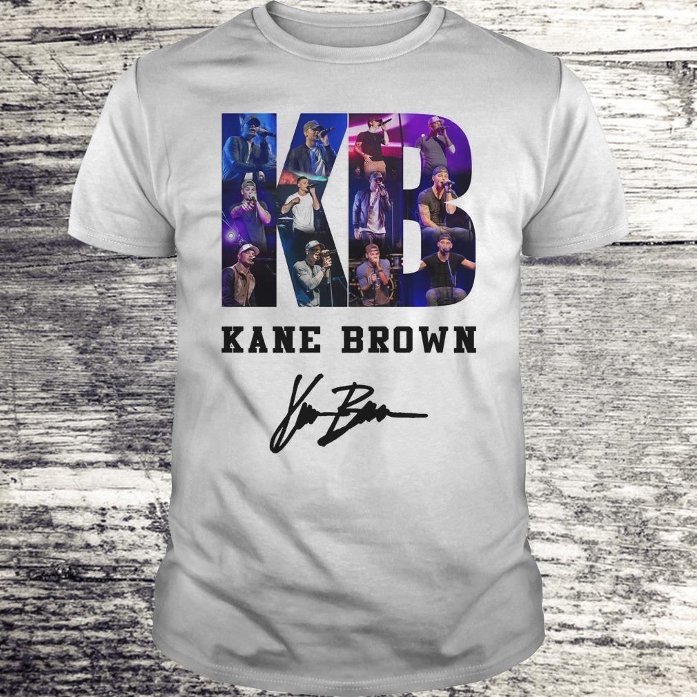 Top Kane Brown Signed Autograph shirt