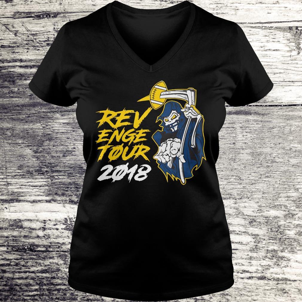 Top Revenge Tour 2018 shirt Ladies V-Neck