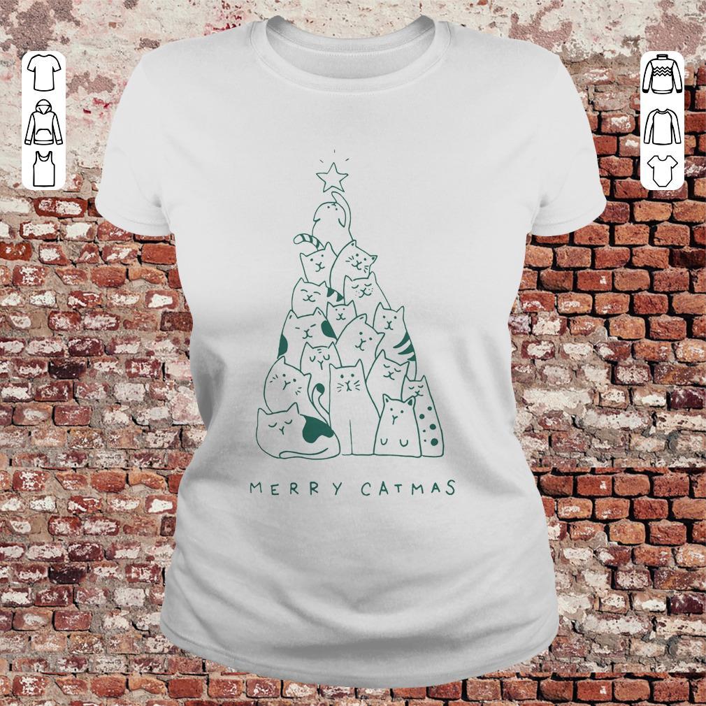 Awesome Merry Catmas Shirt Sweater Classic Ladies Tee.jpg