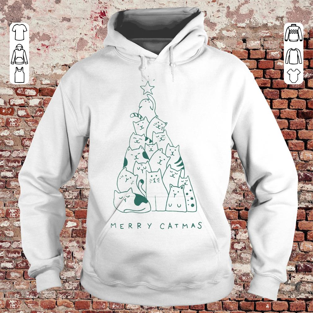 Awesome Merry catmas shirt sweater Hoodie