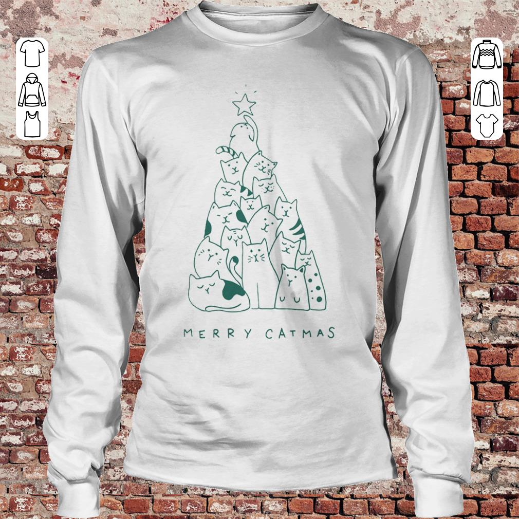 Awesome Merry catmas shirt sweater Longsleeve Tee Unisex