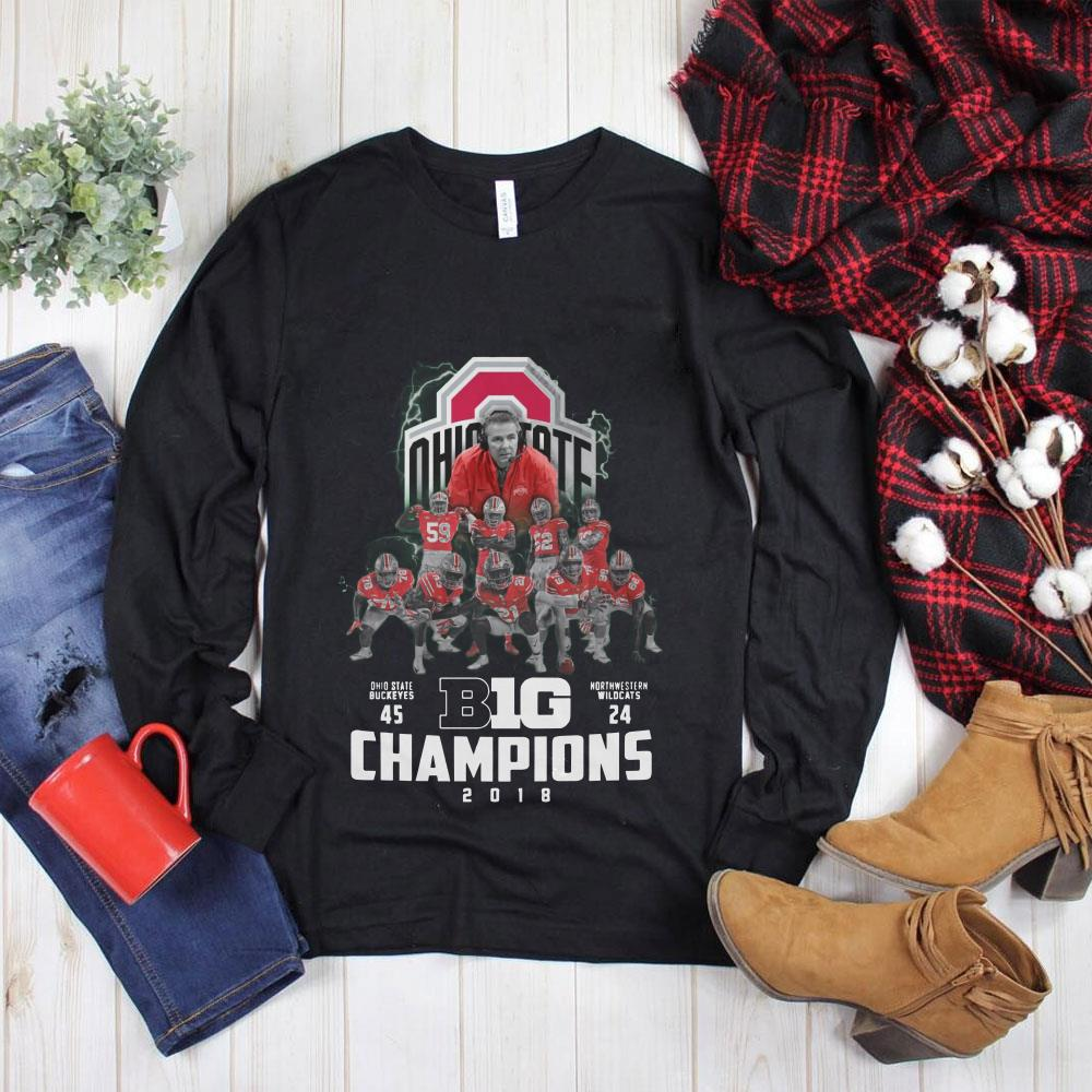 Premium Big Champions Ohio State Buckeyes vs Northern Illinois shirt