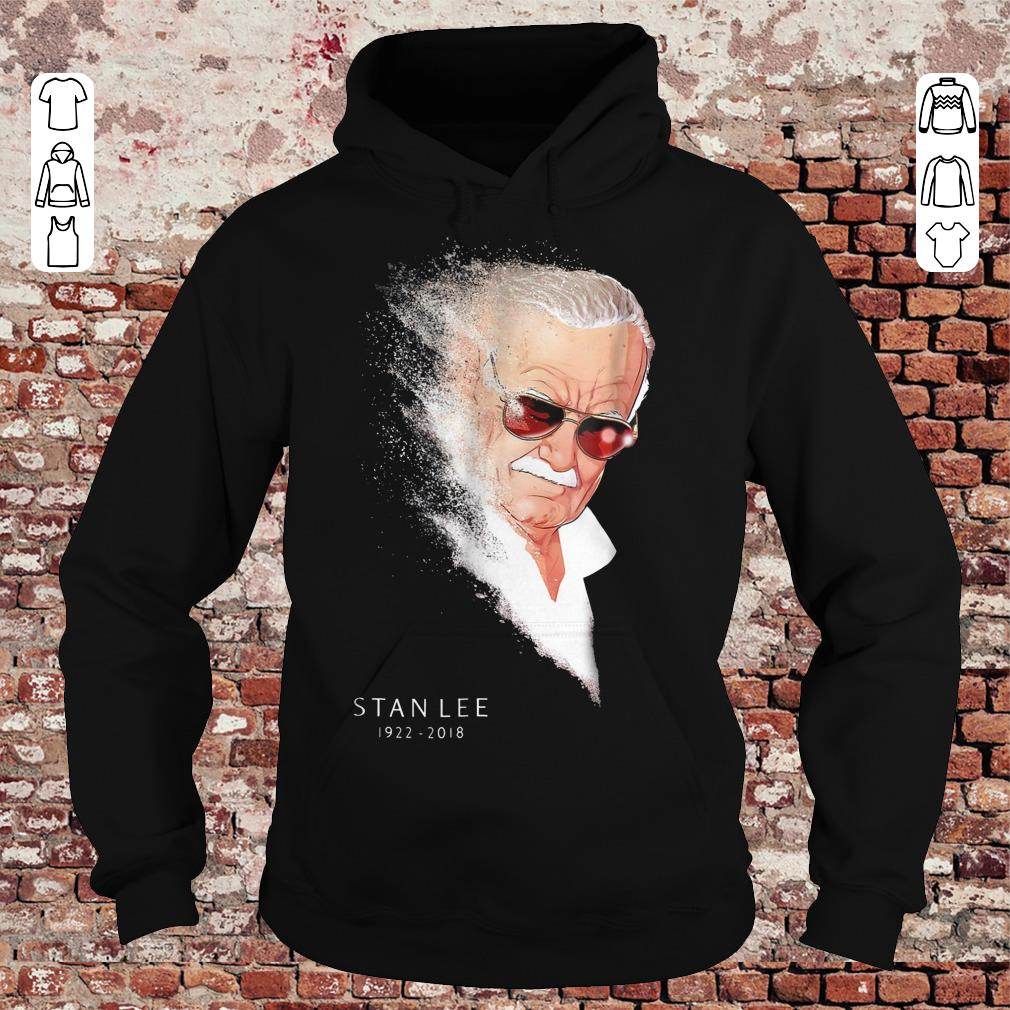 Hot Infinity War Thanos Disintegration Stan Lee shirt hoodie Hoodie