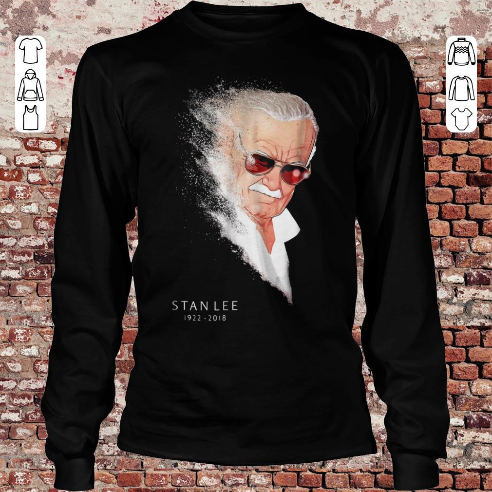 Hot Infinity War Thanos Disintegration Stan Lee shirt hoodie Longsleeve Tee Unisex