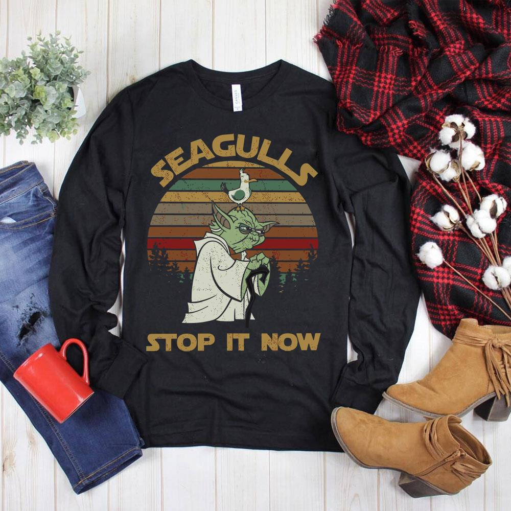 Hot Seagulls stop it now shirt