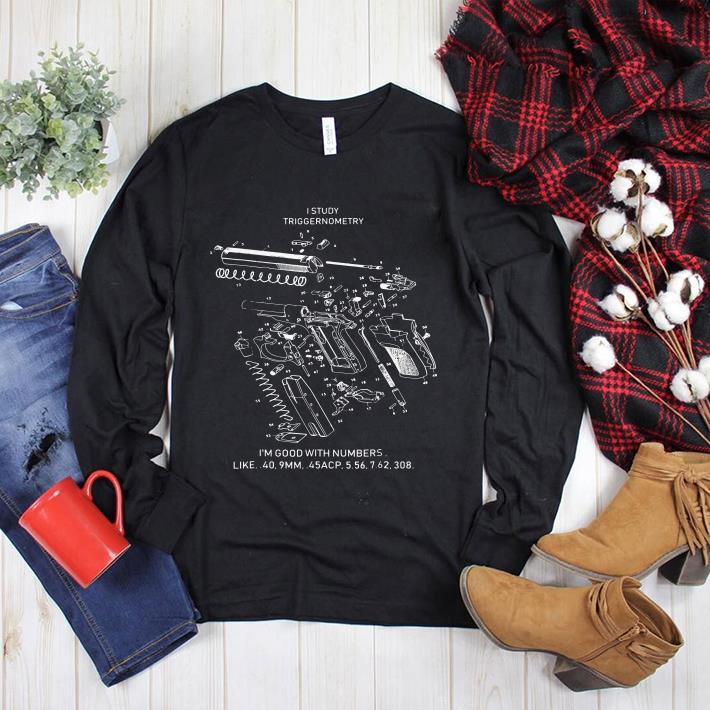 I study triggernometry 3d shirt