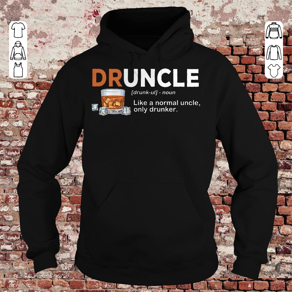 Official Druncle definition Shirt sweater Hoodie